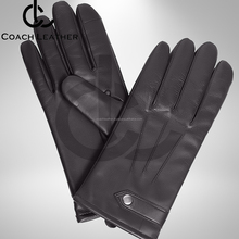 New Collection Fashion Ladies Sheepskin Genuine leather Wool Lined Men Gloves