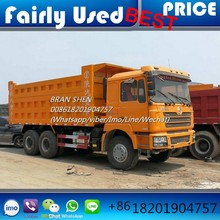 Used Shacman F3000 Dump Truck 6x4 Right Hand Drive