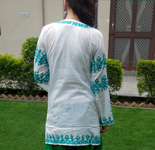Fancy indian top short beach tunic