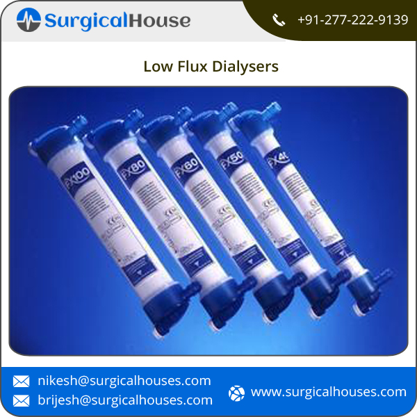 Medical Blood Dialyzer / Low Flux Dialyser