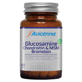 Avicenna Brand Glucosamine MSM Bromalain Tablets Bromelain Joint Supplements Capsule ...