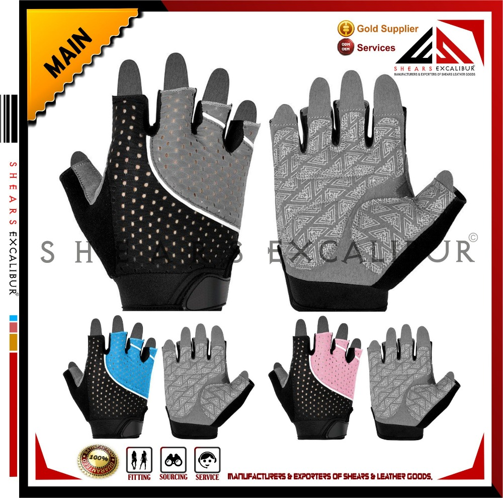 Mesh / Terry Cloth / Silica Gel / Gym Workout Bodybuilding Training Weight Lifting Fitness Gloves