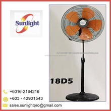 High Quality Five Blades Industrial Stand Fan from Malaysia