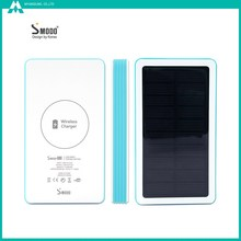 New technology wireless battery case 5000mAh solar power phone accessories mobile
