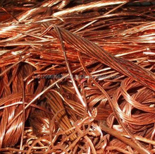 Copper Wire Scrap 99.95% to 99.99% Purity