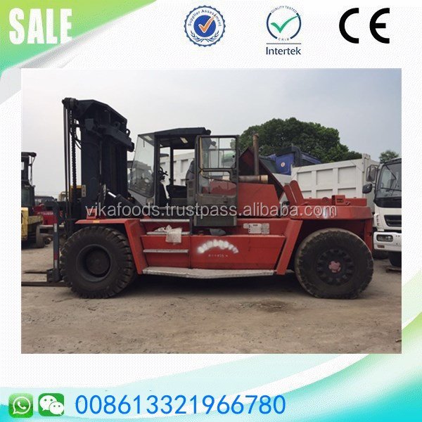 Good condition Japan made Mitsubishi 25 ton forklift sale in China