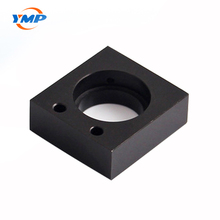 CNC turning aluminum price laser cutting parts with black anodized aluminum metal turning parts