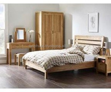 oak bedroom furniture/bedroom furniture set/oak furniture