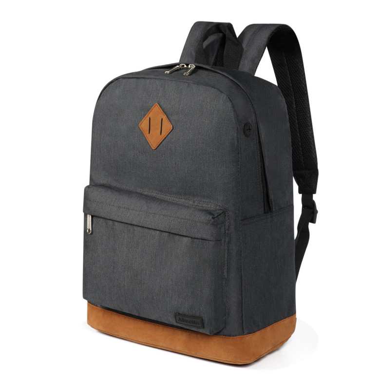 2019 Stylish and simple usb <strong>bag</strong> pure color outdoor leisure travel breathable waterproof backpack <strong>bag</strong> with usb port