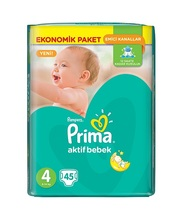 FOR PRIMA PAMPERS JUMBO 45'S 4