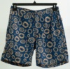 High Quality, Competitive Price, Fashionable Men Drawstring, CF Closure- Fireworks Geo / Ensign Blue - Print Swim Shorts