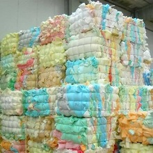 100% Clean and dry pure Polyurethane waste recycling PU scrap foam in bales
