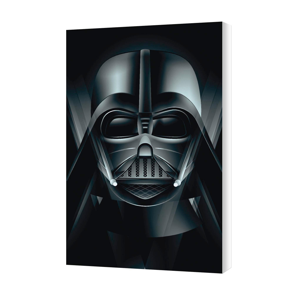 Malaysia Print Darth Vader Illustration Art Printed on Artist Grade Canvas for Wall Decor