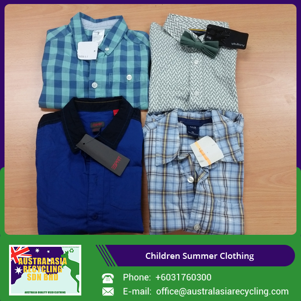 Used Summer Children Clothing/ Kids Clothes at Export Price