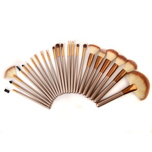 23 PCS Individuelles Logo Holz Professionelle Make-Up Pinsel
