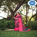 Indian Appreciable Variety Colored Designer Chiffon Saree by NP