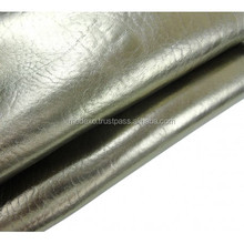 Dry Milled Laminated Silver Vegetable Tanned Bellies For Shoes Genuine Leather