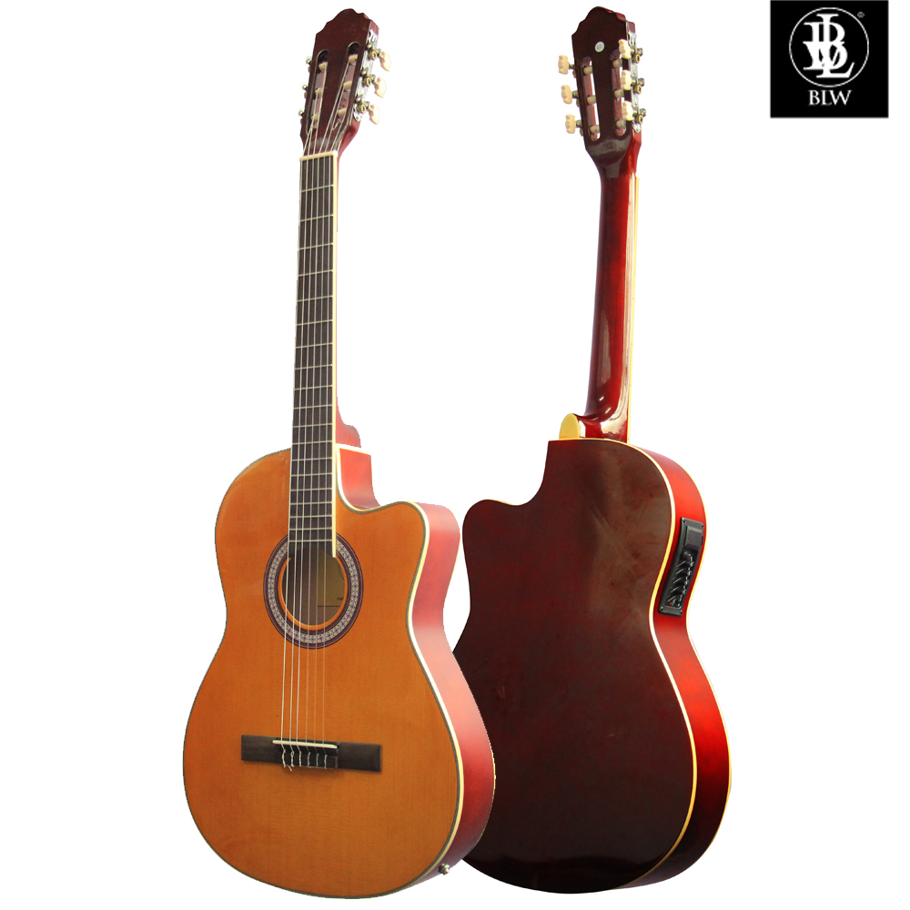 Thin Electro Acoustic Classical Guitar - BLW CG39 Slim