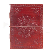 Antique flap leather journal/notebook/diary for gift/promotion