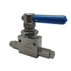 "High Quality 3 Way Ball Valve, 20000 psi, SS 316, 3/8"" MP female, for Oil, Water, Gas, equivalent to Swagelok, Parker, Autoclave"