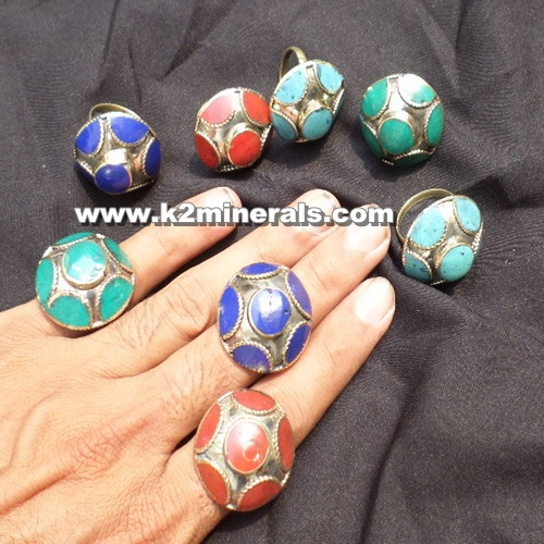 (SH-02)TRIBAL KUCHI JEWELLERY RING