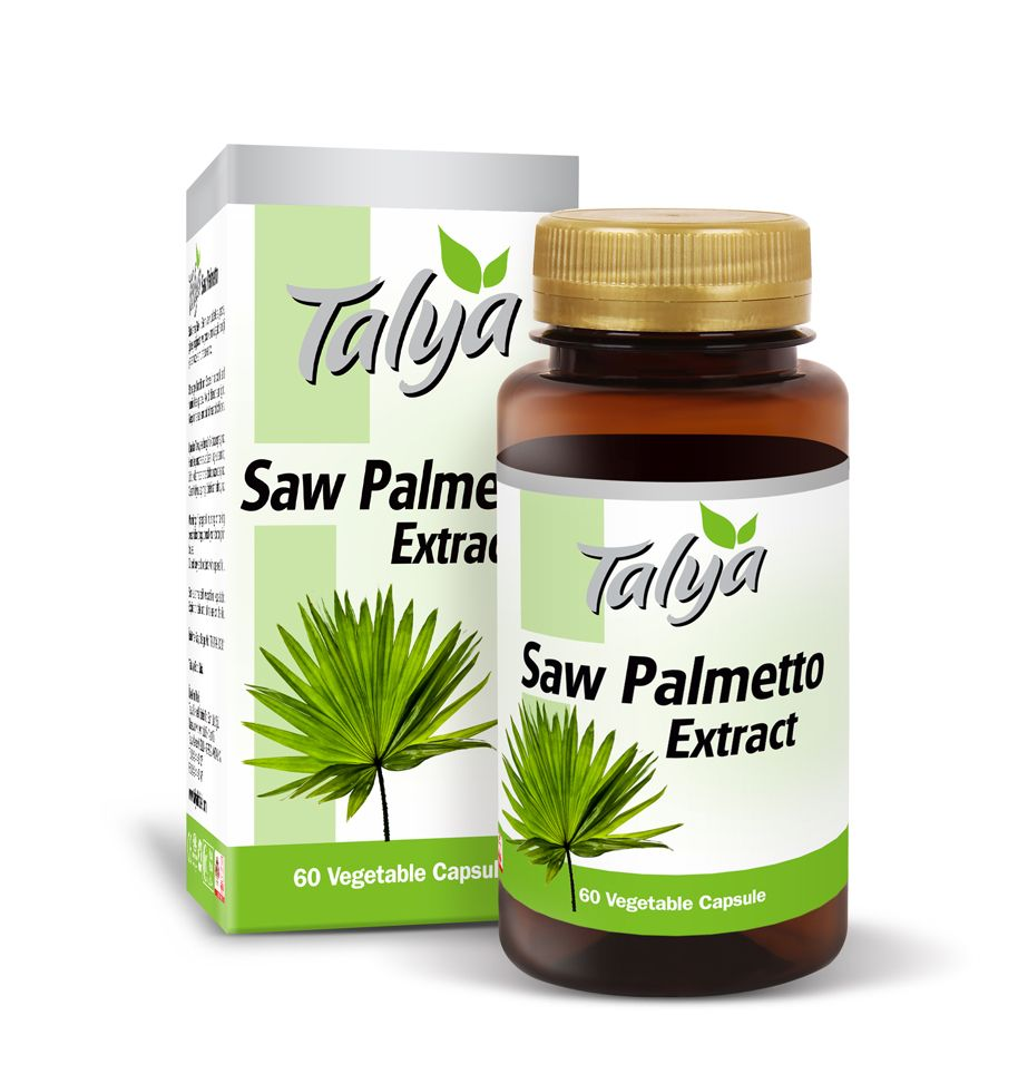 Talya Saw Palmetto Food Supplement, Extract, Herbal Food Supplement