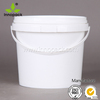4L plastic pail with Lid coating bucket manufacturer