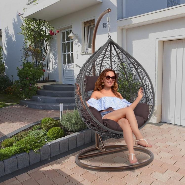 balcony swing chair hanging