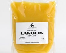 100% Pure Natural Cosmetic and Medicine Grade Lanolin Anhydrous
