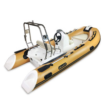 AQUAPARX RIB390 FRP Rigid Inflatable Boat