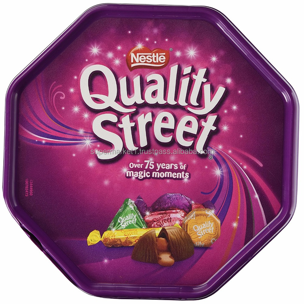 Nestle Quality Street Tin 750G - High Quality Chocolate