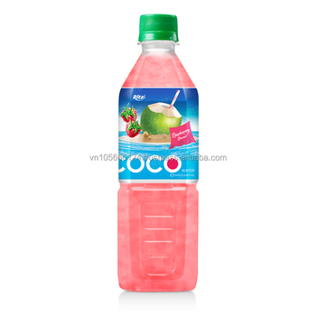 500ml Pet bottle Strawberry Flavor Coconut Water