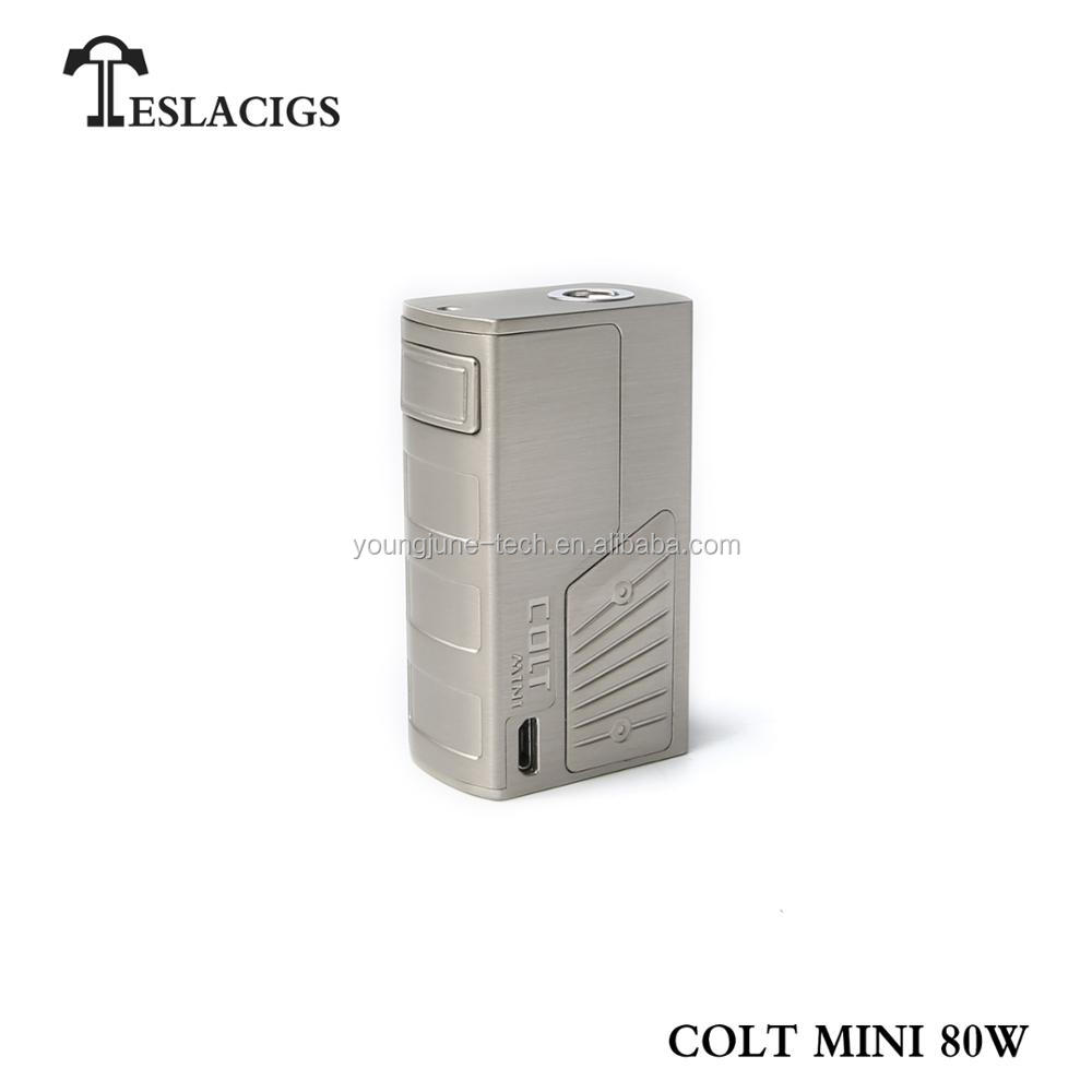 2018 new inventions Tesla high quality colt mini 80w