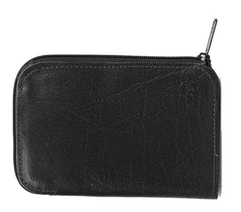 Leather Black Key Holder Case