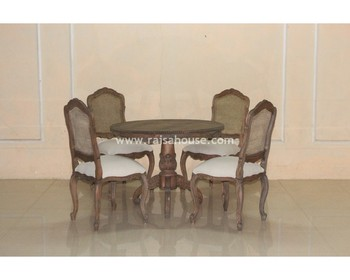 Indonesia Furniture - Ding Room Set Furniture Antique Furniture Jepara