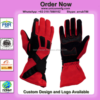 GO KART SPORTS DRIVING KARTING CIK/FIA GLOVES