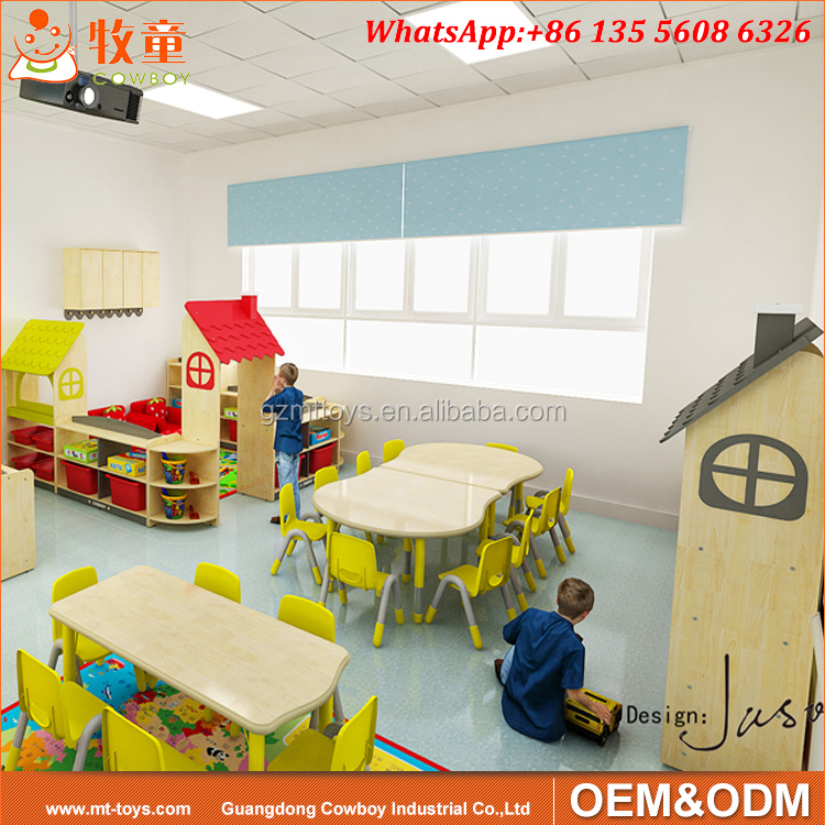 Chine Enfants Meubles Ensembles Jouer L'école Maternelle classe meubles