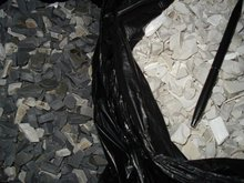 PVC Crushed Pipes Scraps FOR SALE. BEST PRICE OFFER