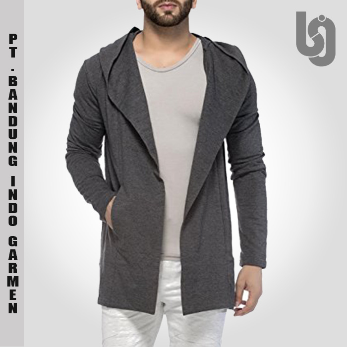 Cheap Custom Cotton Hooded Cardigan Wholesale