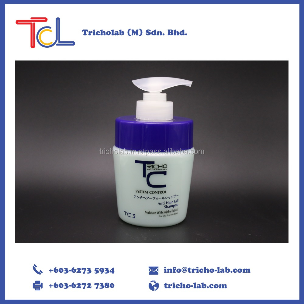 TC 3 ANTI-HAIR FALL/LOSS SHAMPOO for Natural Anti Hair care Treatment made from Malaysia