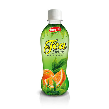 Tea Drink suppliers With Orange Juice Flavour for bottle 330ml