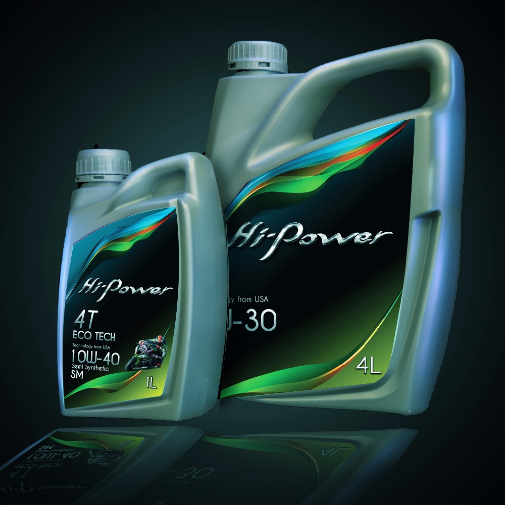 Hi Power PAO Fully Synthetic Engine Oil SAE 0W20 API SN/CI4 Engine Oil