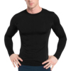 Custom Printed Compression Shirt Long Sleeve Man Long Sleeve Rash Guard Wholesale