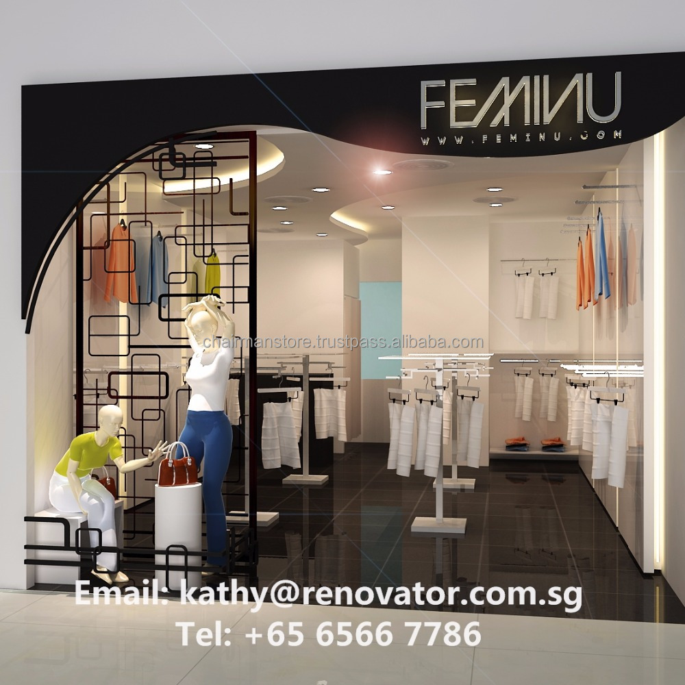 Boutique Store Interior Design & Renovation Service