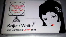 Kojic White Skin Lightening Soap - Kojic Acid Gluta Vitamin C&E Soap