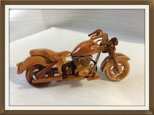 Vietnam high quality handmade wood motorcycle model, beautiful art model