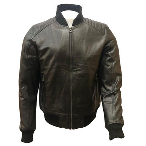 High Quality Design 2019 Wholesaler Price Custom Made Motor bike Apparel,Fashion Bomber Jacket for Men In Pure Genuine Leather