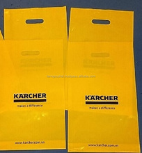 KarCher non woven round bottom die cut plastic shopping bag
