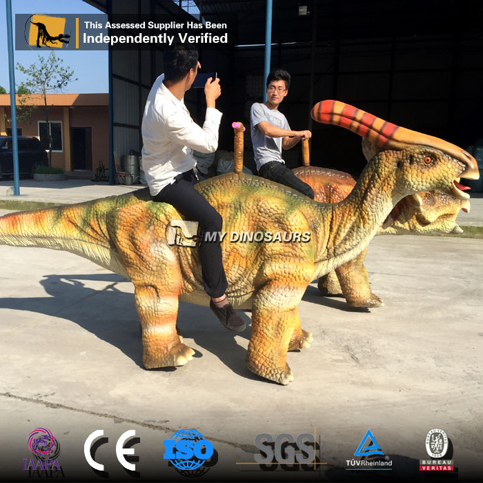 MY DINO-ARA32 Battery Operated Walking Dinosaur Ride for Kids