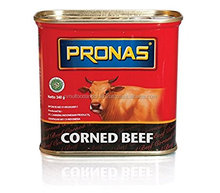 Corned Beef 340 g Canned Meat Pronas Regular Halal Wholesale